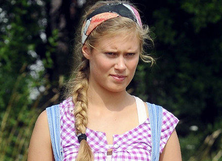 "Julia Pietrucha w serialu ""Blondynka"" / fot. Kurnikowski /AKPA"