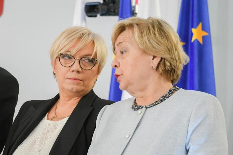 Julia Przyłębska i Małgorzata Gersdorf /Jacek Dominski/ /Reporter
