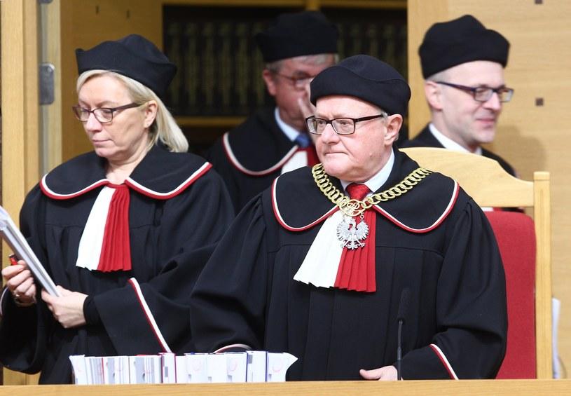 Julia Przyłębska i Stanisław Biernat /Stanisław Kowalczuk /East News