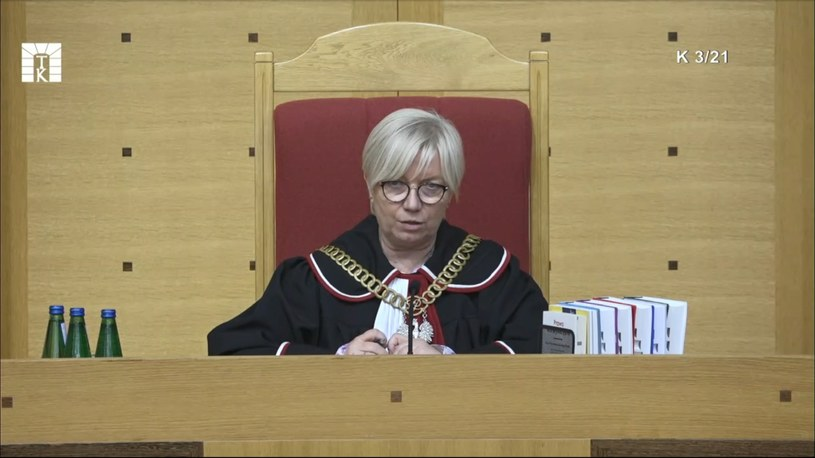 Julia Przyłębska, prezes Trybunału Konstytucyjnego /Trybunał Konstytucyjny /materiały prasowe