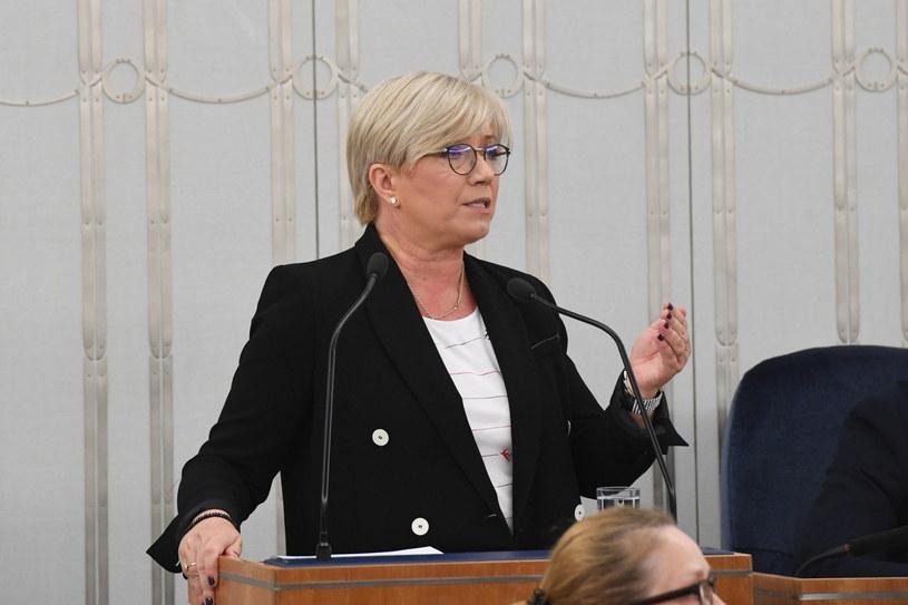 Julia Przyłębska w Senacie /Radek Pietruszka /PAP
