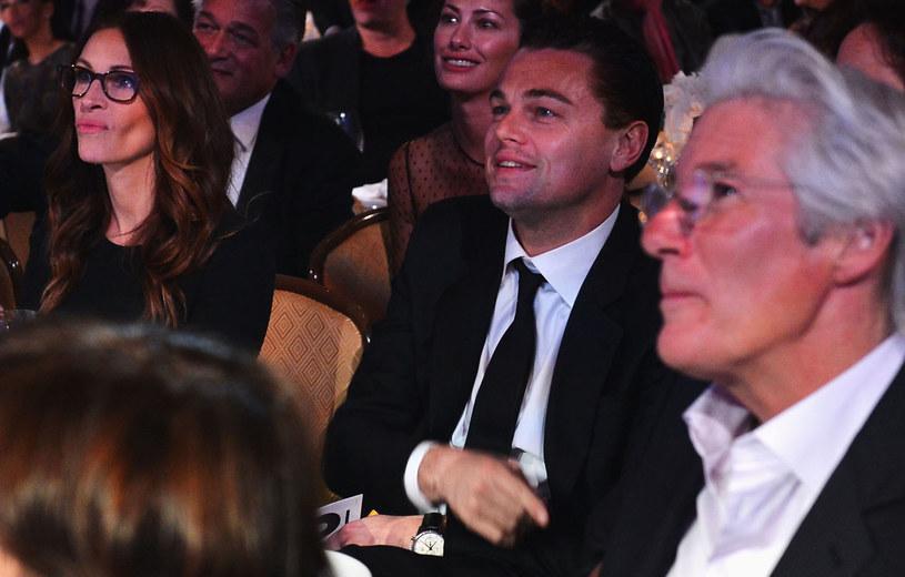 Julia Roberts i Richard Gere, na zdj. z Leonardo DiCaprio /Alberto E. Rodriguez /Getty Images