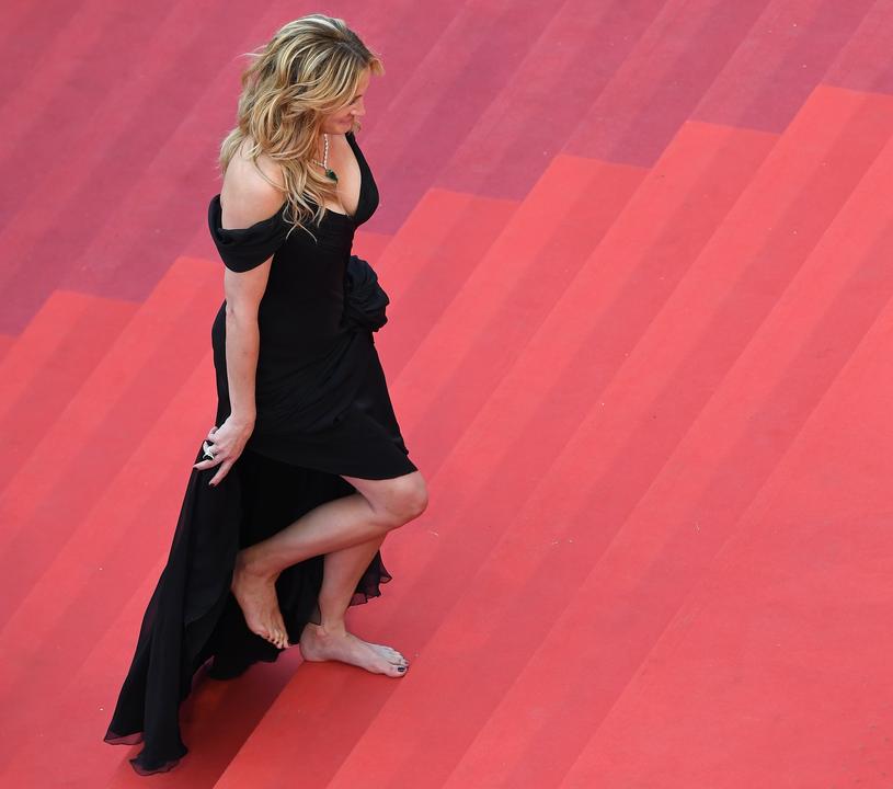 Julia Roberts na festiwalu w Cannes, 2016 r. /AFP /East News