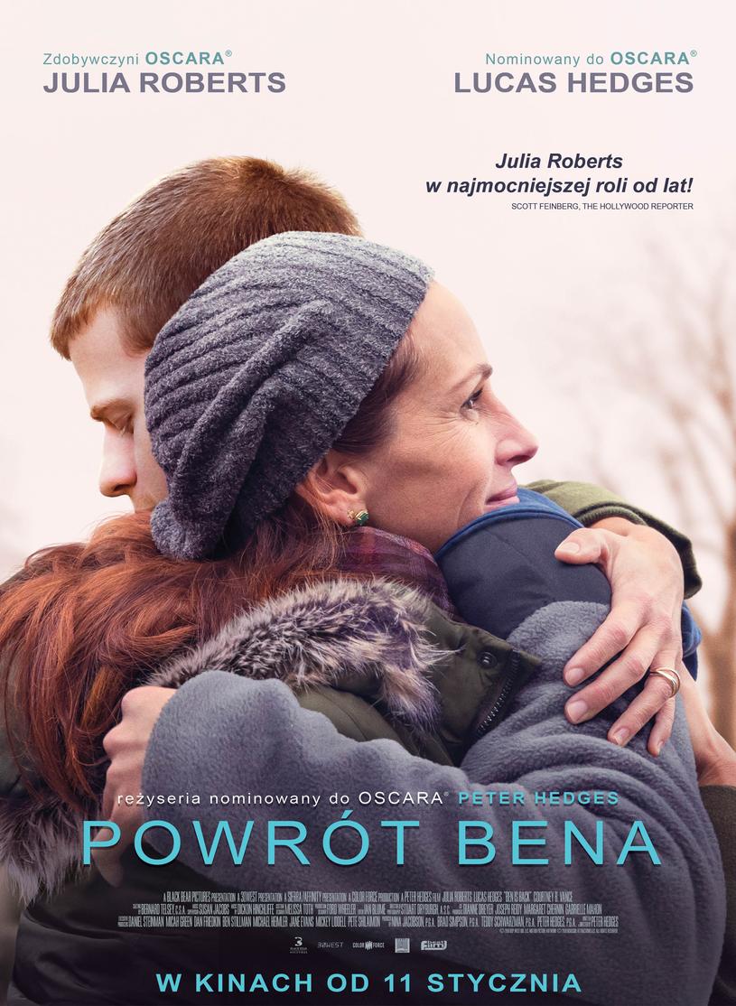 "Julia Roberts na plakacie filmu ""Powrót Bena"" /materiały dystrybutora"