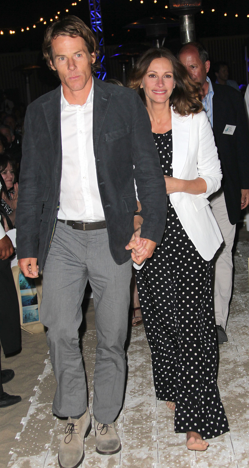Julia Roberts z mężem, Danielem Moderem / Frederick M. Brown /Getty Images