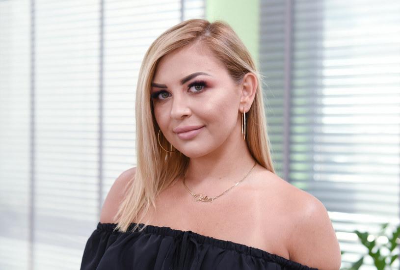 """Julia """"Sara"""" chętnie gości w telewizji - tak wyglądała w 2018 roku. /Justyna Rojek /East News"""