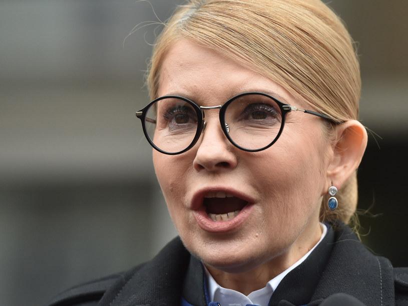 """""""Julia Tymoszenko ma bardzo wyrazisty program i zmieniła nawet charakterystyczną fryzurę"""" /SERGEI SUPINSKY /AFP"""