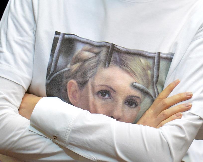 Julia Tymoszenko nadal przebywa w więzieniu /AFP