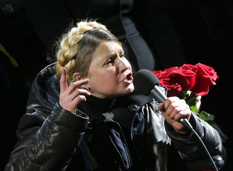 Julia Tymoszenko. /MAXIM SHIPENKOV    /PAP/EPA