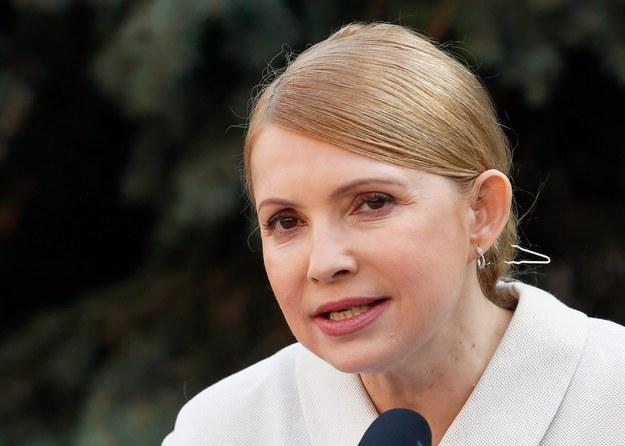 Julia Tymoszenko /SERGEY DOLZHENKO /PAP/EPA