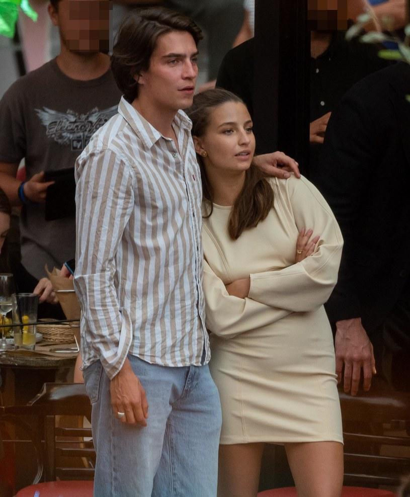 Julia Wieniawa i Nikodem Rozbicki /Newspix