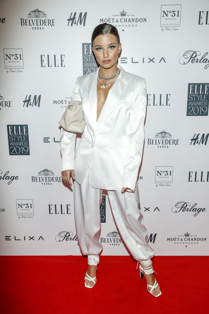 Julia Wieniawa na gali Elle Style Awards 2019 /Podlewski /AKPA
