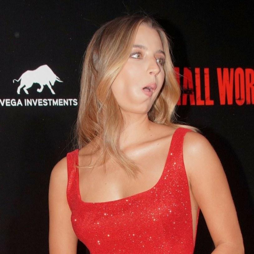 "Julia Wieniawa na premierze ""Small World"" /VIPHOTO /East News"