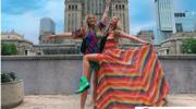 Julia Wieniawa na zdjęciu z Parady Równości. Burza w komentarzach