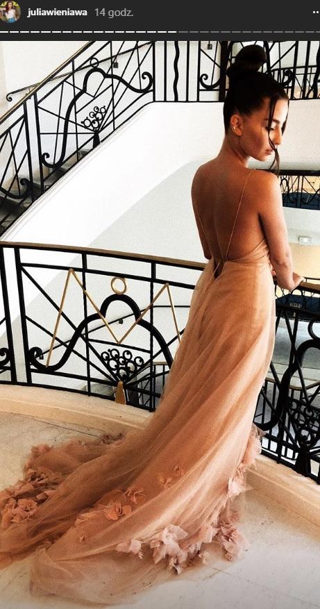 Julia Wieniawa w Cannes /Instagram /materiał zewnętrzny