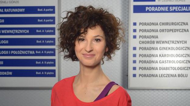 Julia Wyszyńska (Klaudia) /www.nadobre.tvp.pl/