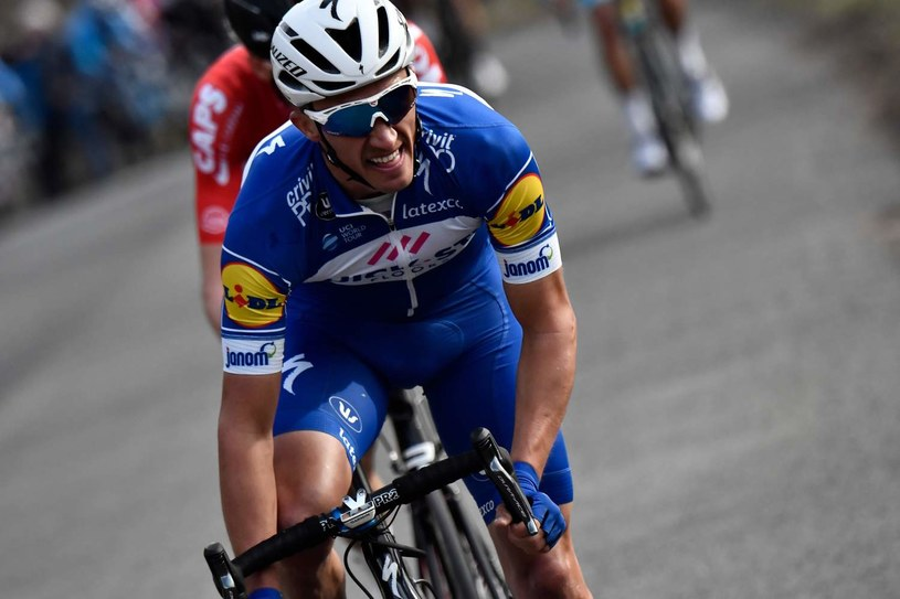 Julian Alaphilippe z grupy Quick-Step /AFP