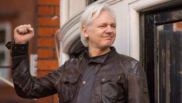 Julian Assange /Dominic Lipinski   /PAP/PA