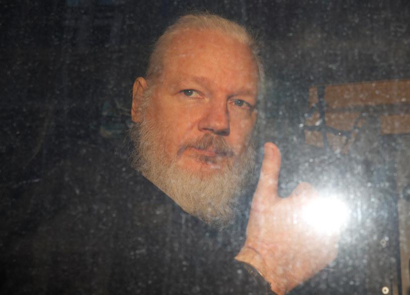 Julian Assange /REUTERS/Peter Nicholls /Agencja FORUM