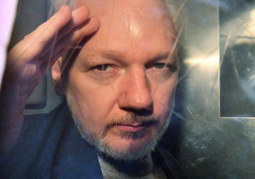 Julian Assange /DANIEL LEAL-OLIVAS /AFP