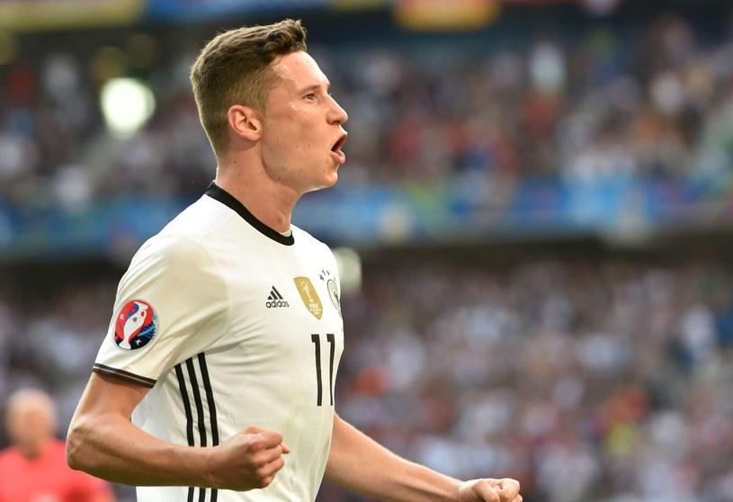 Julian Draxler nie miał najlepszego minionego sezonu, ale na Euro pokazał się z niezłej strony /AFP