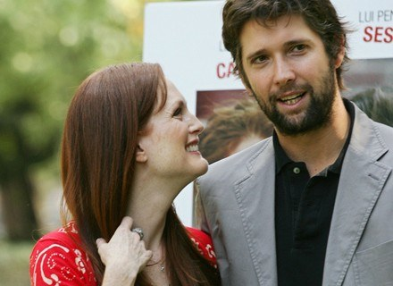 Julianne Moore i jej mąż Bart Freundlich /AFP