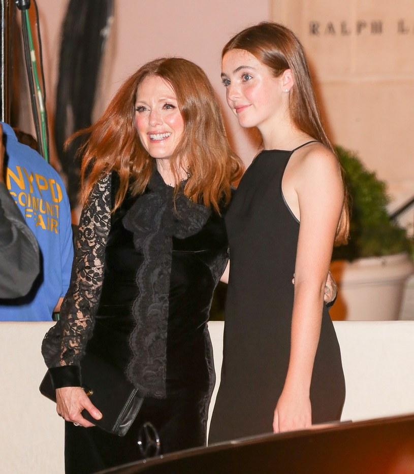 Julianne Moore z córką /East News