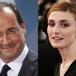 Julie Gayet zniesmaczona zachowaniem Francois Hollande'a? Wyciekła treść sms-ów!