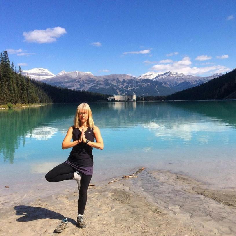 Julie Zirngast prowadzi zdrowy tryb życia i regularnie uprawia jogę /Jam Press / SplashNews.com /East News