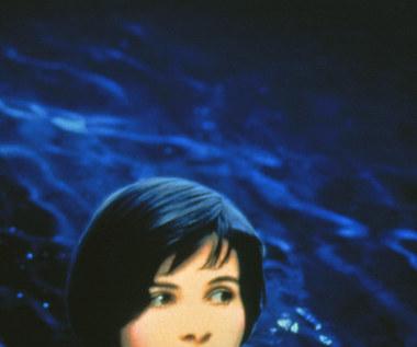 "Juliette Binoche w filmie ""Trzy kolory: Niebieski"""