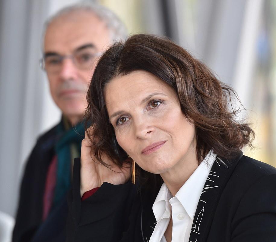Juliette Binoche /Jacek Bednarczyk /PAP