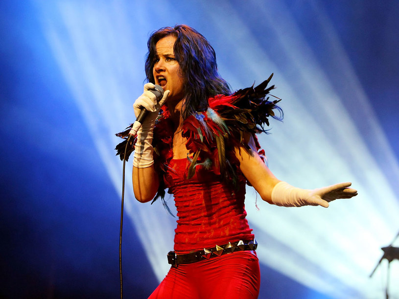 Juliette Lewis gra ostrego rocka   /Getty Images/Flash Press Media