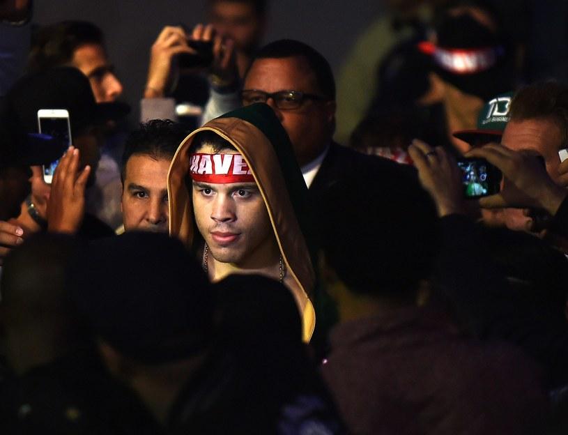 Julio Cesar Chavez Junior w drodze na ring /AFP