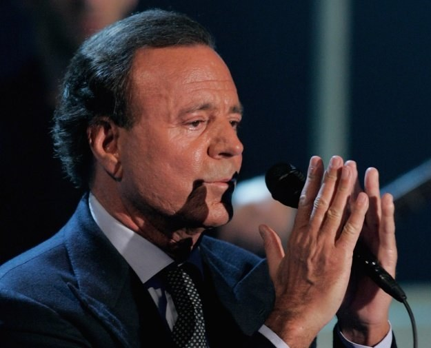 Julio Iglesias poślubił partnerkę fot. Ralph Orlowski /Getty Images/Flash Press Media