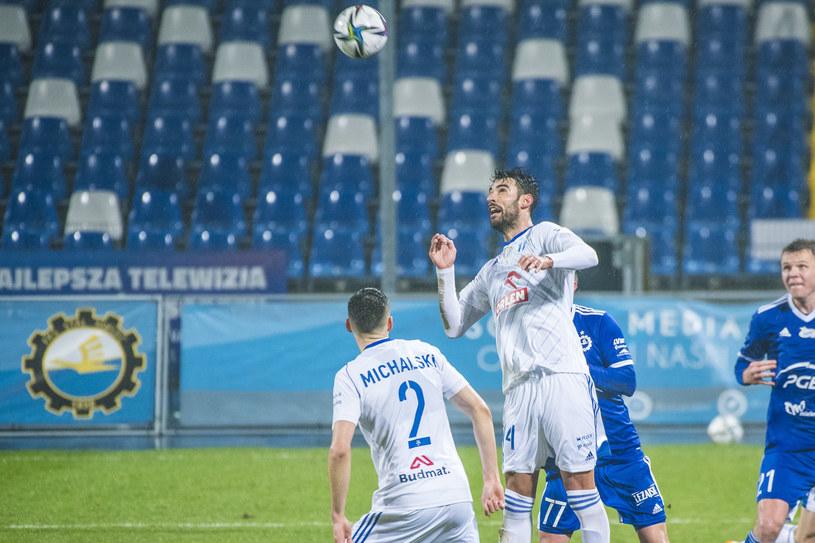 Julio Rodriguez w meczu Wisły Płock ze Stalą Mielec /KAROL SLOMKA / 400mm.pl / NEWSPIX.PL /Newspix