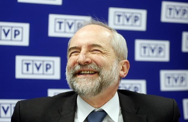 Juliusz Braun, prezes TVP. Fot Adam Guz /Reporter