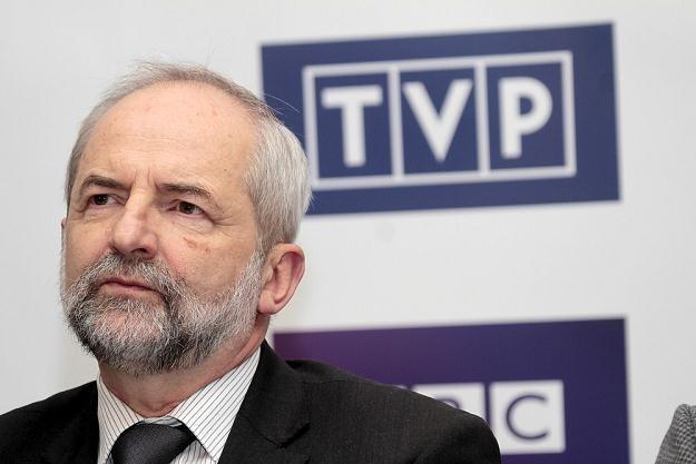 Juliusz Braun, prezes TVP. Fot. Adam Jankowski /Reporter