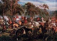 Juliusz Kossak, Bitwa pod Ignacewem /Encyklopedia Internautica