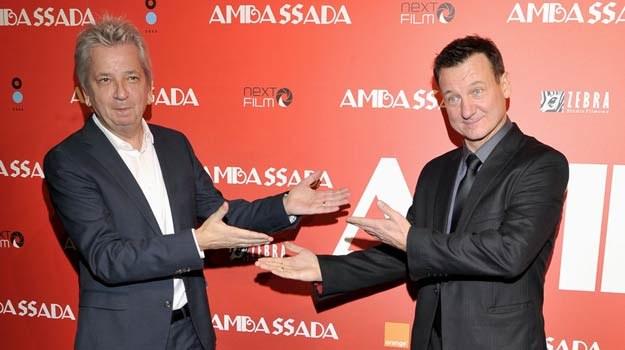 Juliusz Machulski uważa, że film się udał dzięki Robertowi Więckiewiczowi. Aktor  wskazuje reżysera. /AKPA