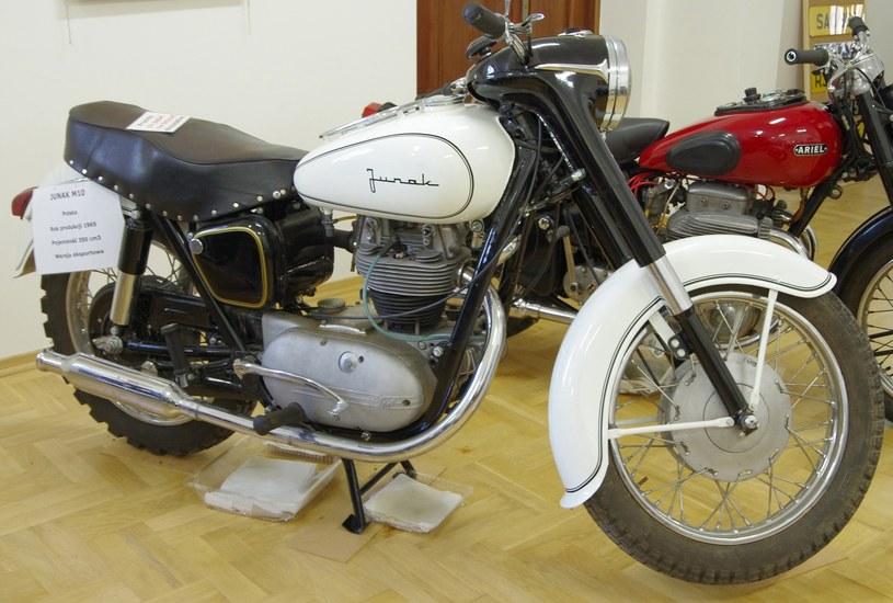 Junak M10 z 1965 roku w muzeum /Marek Bazak /East News