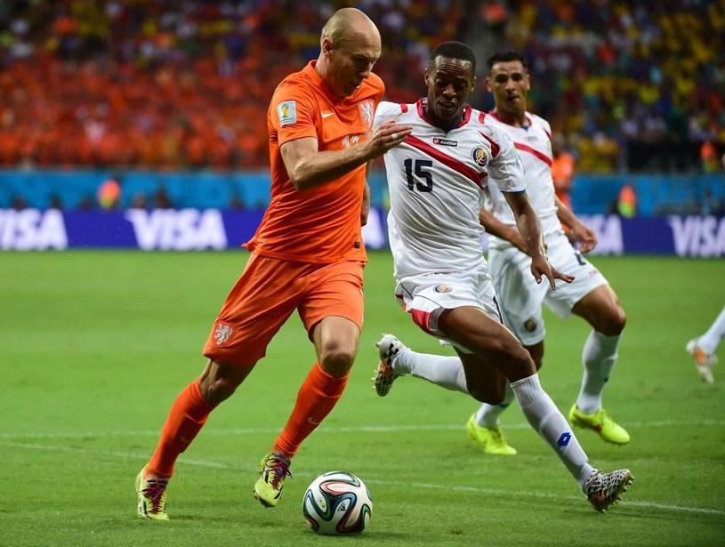 Junior Diaz (z prawej) podczas Mundialu /AFP