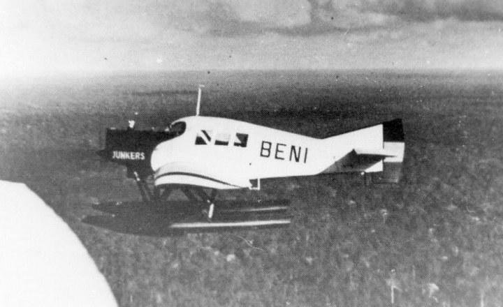 Junkers F-13 należący do niemiecko-kolumbijskiej spółki SCADTA w czasie wojny z Peru /Wikimedia Commons /INTERIA.PL/materiały prasowe