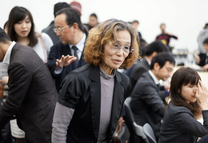 Junko Ishido, matka 47-letniego dziennikarza Kenji Goto /PAP/EPA