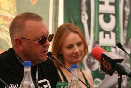 Jurek Owsiak i Ewelina Flinta /INTERIA.PL