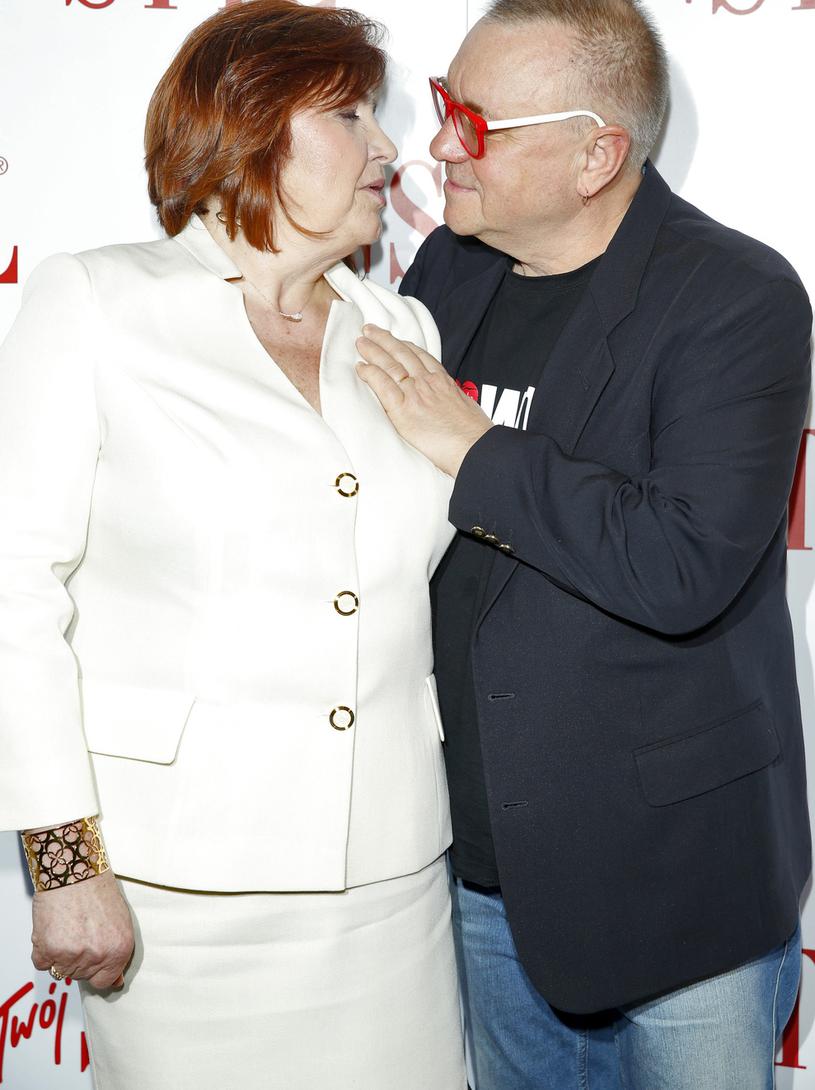 Jurek Owsiak z żoną Lidią /Podlewski /AKPA