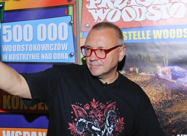 Jurek Owsiak zaprasza na Przystanek Woodstock do Kostrzyna nad Odrą - fot. Jarosław Antoniak /MWMedia