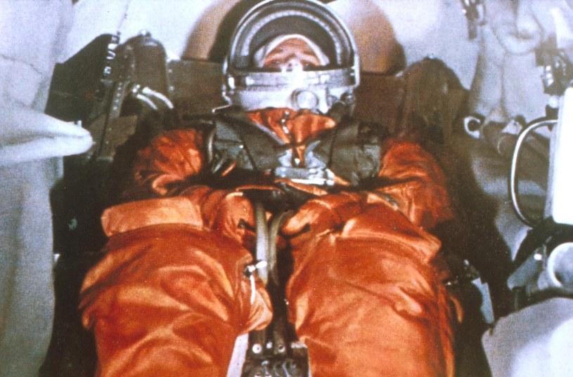 Jurij Gagarin - pierwszy człowiek w kosmosie /Agencja FORUM