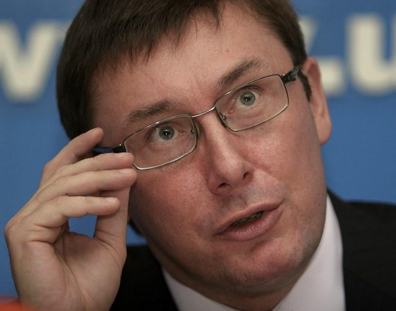 Jurij Łucenko, prokurator generalny Ukrainy /Sinitsa Aleksandr  /East News