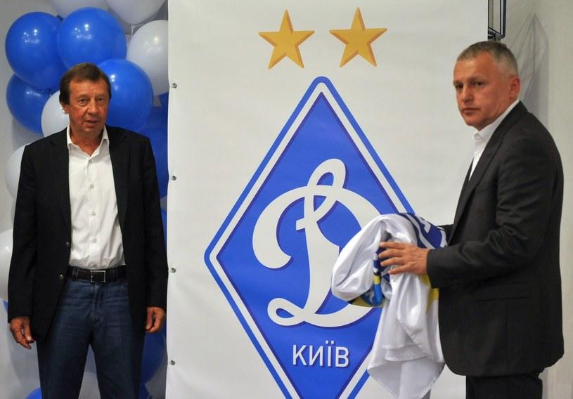 Jurij Siemin (z lewej) /AFP