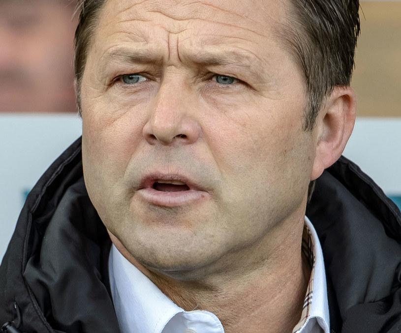 Jurij Szatałow podczas meczu Górnik - Wisła /Wojciech Pacewicz /PAP
